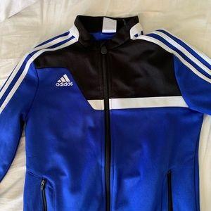 Blue adidas climacool jacket